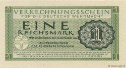 1 Reichsmark ALLEMAGNE  1942 P.M38 pr.NEUF