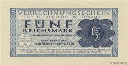 5 Reichsmark ALLEMAGNE  1942 P.M39 NEUF