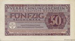 50 Reichsmark ALLEMAGNE  1942 P.M41 SUP