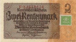 2 Deutsche Mark ALLEMAGNE  1948 P.002 pr.NEUF