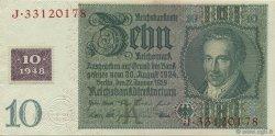 10 Deutsche Mark ALLEMAGNE  1948 P.004a SPL