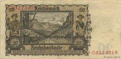 20 Deutsche Mark ALLEMAGNE  1948 P.005A TTB