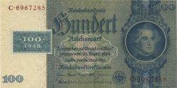 100 Deutsche Mark ALLEMAGNE  1948 P.007b pr.NEUF