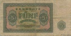 5 Deutsche Mark ALLEMAGNE  1955 P.017 TB