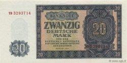 20 Deutsche Mark ALLEMAGNE  1955 P.019a NEUF