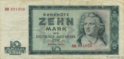 10 Mark ALLEMAGNE  1964 P.023a TB