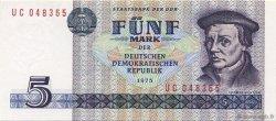 5 Mark ALLEMAGNE  1975 P.027b NEUF
