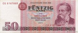 50 Mark ALLEMAGNE  1975 P.030a NEUF