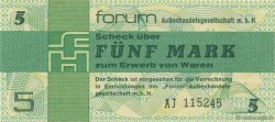 5 Mark ALLEMAGNE  1979 P.FX3 NEUF