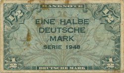 1/2 Mark ALLEMAGNE  1948 P.001a TB