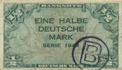 1/2 Mark ALLEMAGNE  1948 P.001b TTB