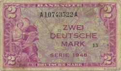 2 Mark ALLEMAGNE  1948 P.003a TB