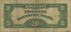 20 Deutsche Mark ALLEMAGNE FÉDÉRALE  1948 P.06a B+