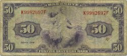 50 Deutsche Mark ALLEMAGNE FÉDÉRALE  1948 P.07a TB