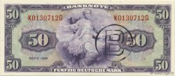 50 Mark ALLEMAGNE  1948 P.007b SPL