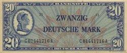 20 Deutsche Mark ALLEMAGNE FÉDÉRALE  1948 P.09a SUP