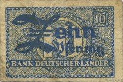 10 Pfennig ALLEMAGNE  1948 P.012a TB
