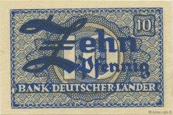 10 Pfennig ALLEMAGNE  1948 P.012a pr.NEUF