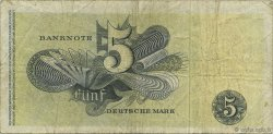 5 Deutsche Mark ALLEMAGNE  1948 P.013e TB