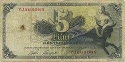 5 Deutsche Mark ALLEMAGNE  1948 P.013i TB