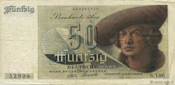 50 Deutsche Mark ALLEMAGNE FÉDÉRALE  1948 P.14a TB+