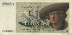 50 Deutsche Mark ALLEMAGNE FÉDÉRALE  1948 P.14a TTB