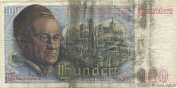100 Deutsche Mark ALLEMAGNE  1948 P.015a