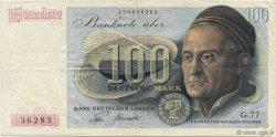 100 Deutsche Mark ALLEMAGNE FÉDÉRALE  1948 P.15a TTB