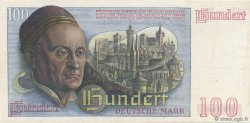 100 Deutsche Mark ALLEMAGNE FÉDÉRALE  1948 P.15a pr.SUP