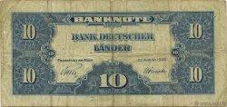 10 Deutsche Mark ALLEMAGNE  1949 P.016a TB