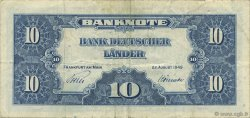 10 Deutsche Mark ALLEMAGNE FÉDÉRALE  1949 P.16a TTB