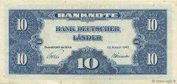 10 Deutsche Mark ALLEMAGNE  1949 P.016a SUP