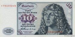 10 Deutsche Mark ALLEMAGNE FÉDÉRALE  1960 P.19a pr.NEUF