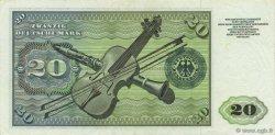 20 Deutsche Mark ALLEMAGNE  1960 P.020a SUP