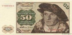50 Deutsche Mark ALLEMAGNE FÉDÉRALE  1960 P.21a SPL+