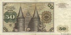 50 Deutsche Mark ALLEMAGNE FÉDÉRALE  1960 P.21a TB