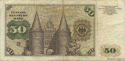 50 Deutsche Mark ALLEMAGNE FÉDÉRALE  1960 P.21a TB+