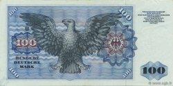 100 Deutsche Mark ALLEMAGNE  1960 P.022a SUP à SPL