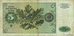 5 Deutsche Mark ALLEMAGNE FÉDÉRALE  1970 P.30a TB+