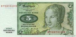 5 Deutsche Mark ALLEMAGNE  1970 P.030a NEUF