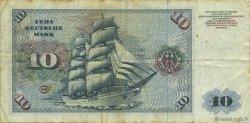 10 Deutsche Mark ALLEMAGNE  1977 P.031b TB