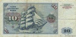 10 Deutsche Mark ALLEMAGNE  1977 P.031b TTB