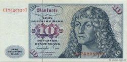 10 Deutsche Mark ALLEMAGNE FÉDÉRALE  1977 P.31b SUP+