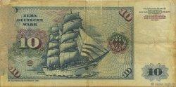 10 Deutsche Mark ALLEMAGNE FÉDÉRALE  1980 P.31d AB