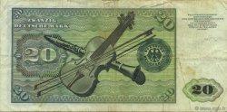 20 Deutsche Mark ALLEMAGNE  1970 P.032a pr.TTB