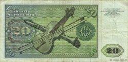 20 Deutsche Mark ALLEMAGNE  1977 P.032b TB+