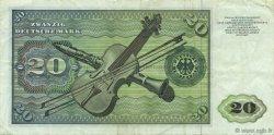 20 Deutsche Mark ALLEMAGNE  1977 P.032b TTB