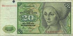20 Deutsche Mark ALLEMAGNE  1980 P.032d TB