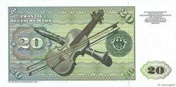 20 Deutsche Mark ALLEMAGNE FÉDÉRALE  1980 P.32d pr.NEUF