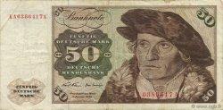 50 Deutsche Mark ALLEMAGNE FÉDÉRALE  1970 P.33a TTB